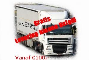 GRATIS levering in Belgie vanaf €100,-